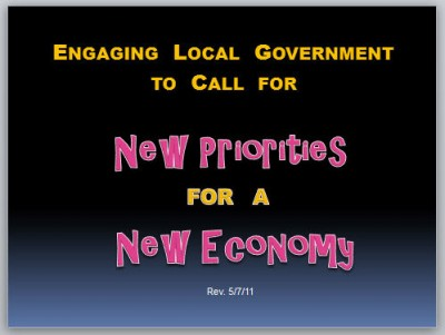 New Priorities for a New Economy Cover